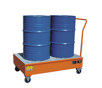 Multi-use containment bund / carbon steel / mobile