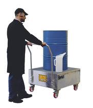 Multi-use containment bund / galvanized steel / mobile