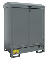 Workshop cabinet / floor-mounted / steel / for toxic products