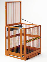 Overhead maintenance mesh cage
