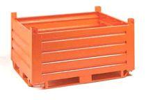 Sheet metal pallet box