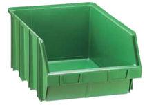 Plastic picking bin / stacking