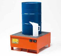 Multi-use containment bund / carbon steel / rigid