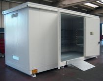 Metal intermodal container / storage / with heat insulation