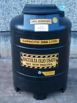 Oil tank / polyethylene / waste oil collection