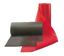 Anti-fatigue mat / ribbed / for hygienic applications