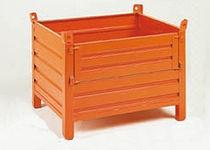 Sheet metal crate / handling / stacking