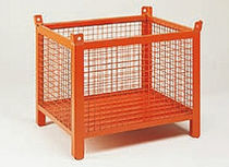 Metal crate / wire mesh / handling