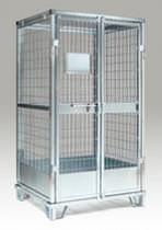 Steel crate / wire mesh / transport / lockable