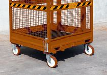 Forklift truck aerial work platform