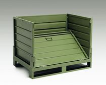 Sheet metal crate / handling / folding