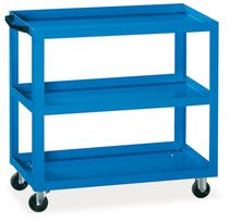 Service cart / metal / shelf / tool-holder