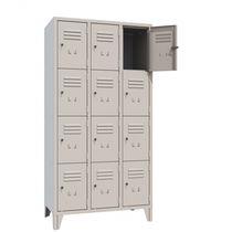 Storage cabinet / floor-mounted / metal