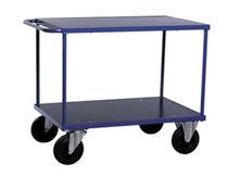 Service cart / steel / shelf / multipurpose