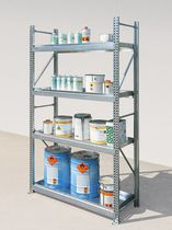 Storage warehouse shelving / for medium loads / adjustable / lightweight