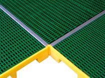 Polyethylene spill platform