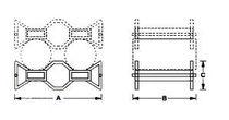 Storage transport rack / for drums