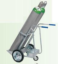 Handling cart / steel / gas bottle