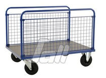 Steel cart / platform / wire mesh platform / multipurpose