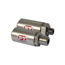 Relative pressure transducer / strain gauge / analog / stainless steel
