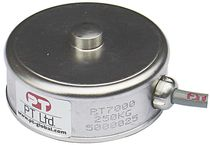 Compression load cell / button type / stainless steel / for hoppers