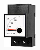 Analog ammeter / wall-mount / with maximeter