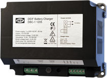 Automatic battery charger / DIN rail-mounted / 12-volt