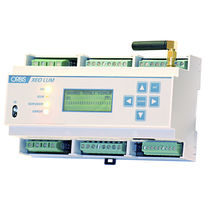 DIN rail energy management unit