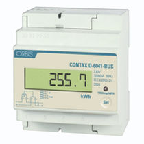 Single-phase electric energy meter / wall-mounted / digital