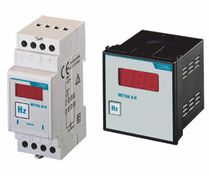 DIN rail frequency counter / digital