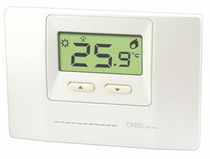 Electronic thermostat / adjustable / digital / programmable