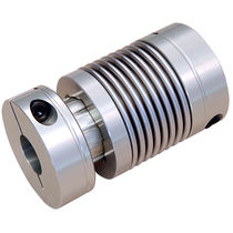 Flexible shaft coupling / compact / metal bellows / sleeve