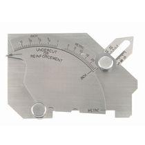 Weld seam measuring gauge