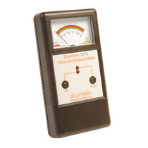 Concrete moisture meter / non-destructive / portable