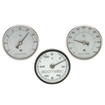 Magnetic thermometer / bimetallic / analog / stationary