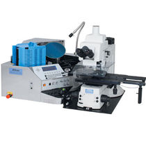 Wafer inspection machine / with optical microscope
