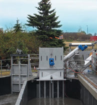 Wastewater treatment screen