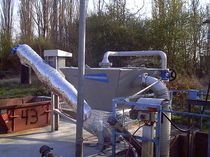 Wastewater treatment filter / sand / dust