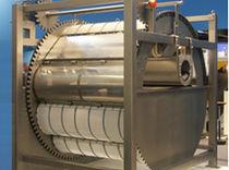 Circular vibrating screener / for liquids / for industry
