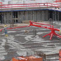 Gyratory concrete spreader
