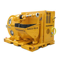 Stationary concrete pump / for construction