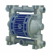 Double-diaphragm pump / pneumatic / in plastic / ATEX