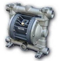 Double-diaphragm pump / pneumatic / aluminum / for aggressive media
