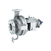 Seawater pump / electric / centrifugal / refinery