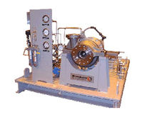 Air compressor / stationary / centrifugal / oil-free