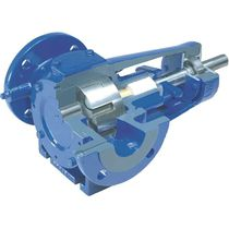 Paint pump / internal-gear / for viscous fluids / cast iron