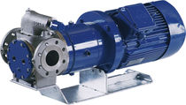 Resin pump / for solvents / magnetic-drive / internal-gear