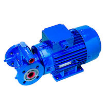 Chemical pump / electric / internal-gear / close-coupled