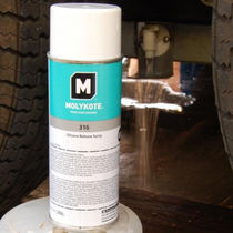 Release agent spray / dry lubricant / silicone