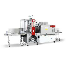 Automatic shrink wrapping machine / with heat shrink film